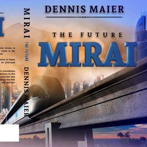 Science book cover with the title 'MIRAI'