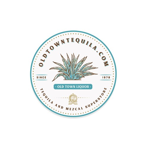 Tequila design with the title 'Logo for old town tequila'
