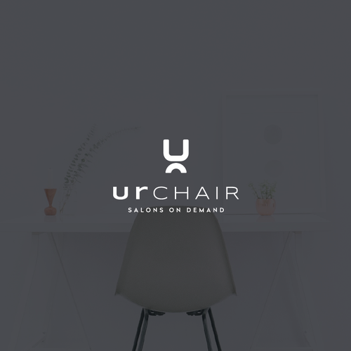 Clean and simple logo with the title 'UrChair Logo'