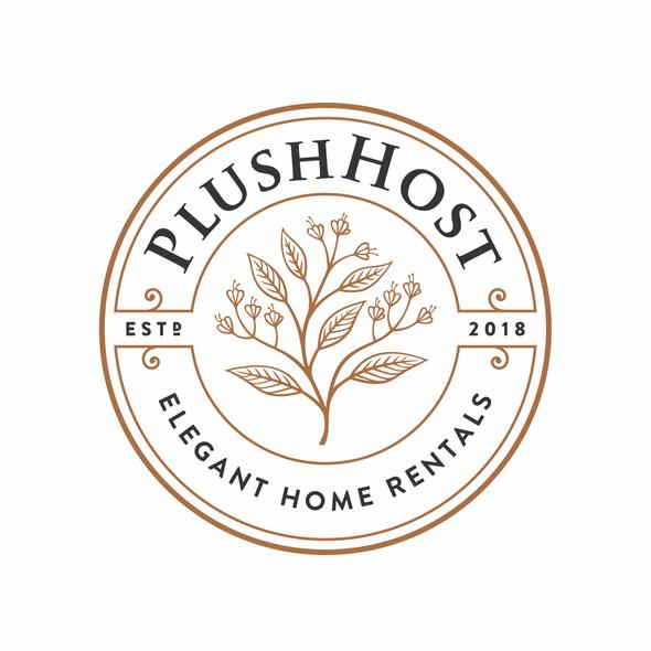 Plush design with the title 'PlushHost'