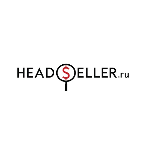 Business logo with the title 'Logo for headseller'