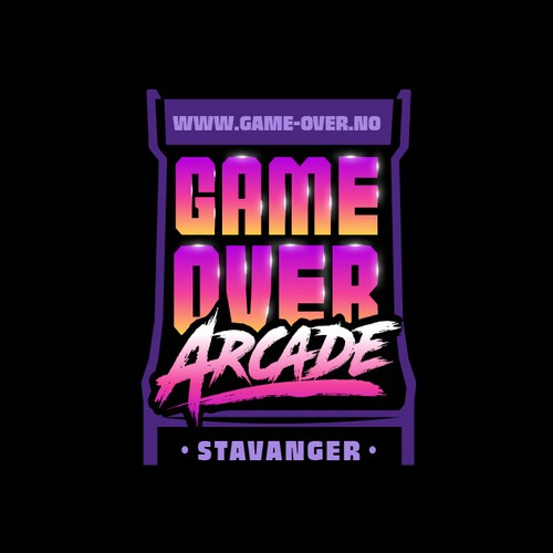 Arcade design with the title 'Logo for a new chain of Arcades'
