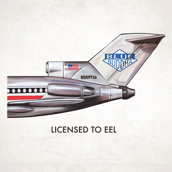 Sushi bar design with the title 'Licensed to Eel'
