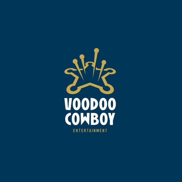 Voodoo design with the title 'Voodoo Cowboy'