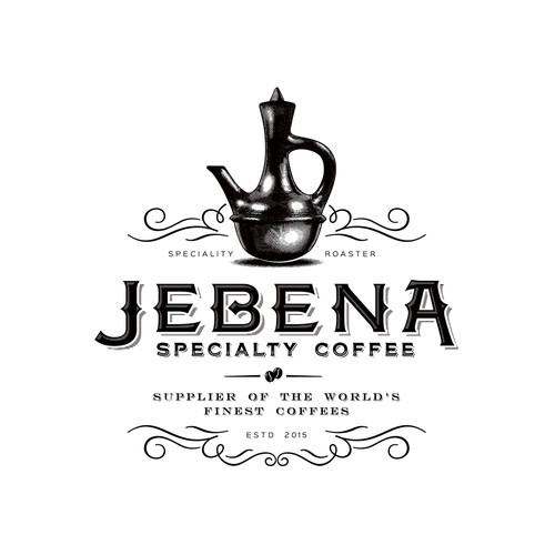 Traditional logo with the title 'Jebena'