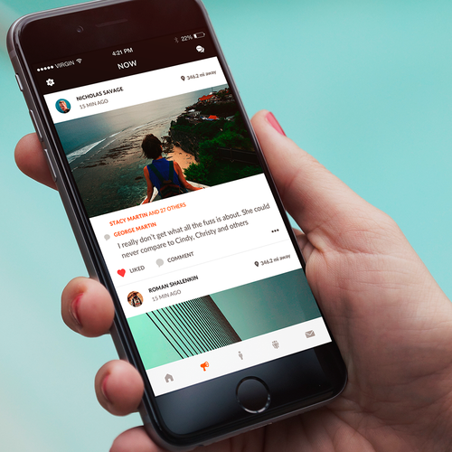 Notification design with the title 'BuddyPass'