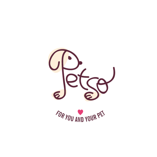 Cute brand with the title 'Logo for Pet store/service'