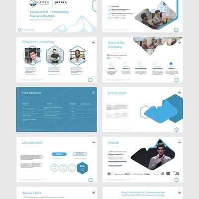 Tech Company - PowerPoint presentation