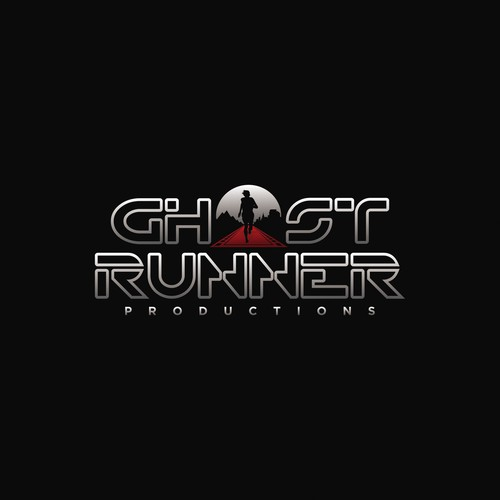 Mythical logo with the title 'Ghost Runner Productions Logo'
