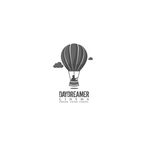 Balloon logo with the title 'Help Daydreamer Cinema with a new logo'