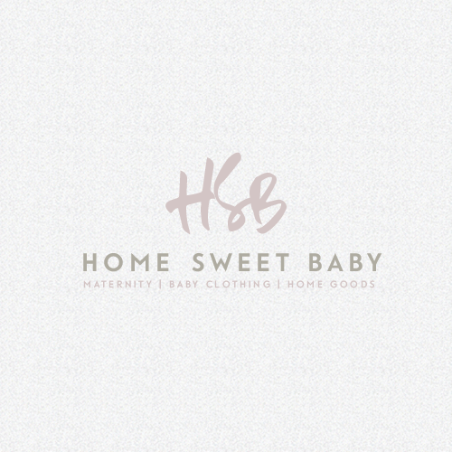Maternity logo with the title 'Home Sweet Baby'
