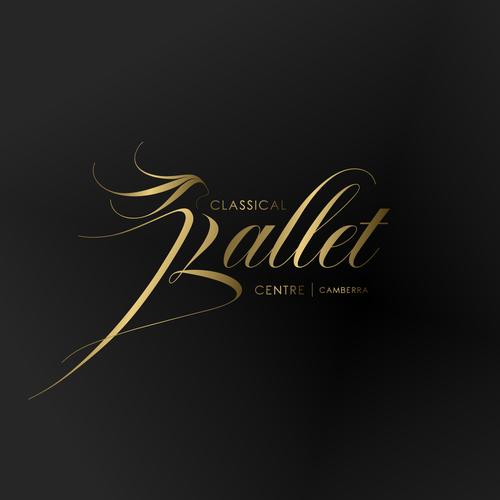 Ballerina logo with the title 'Classical Ballet Centre'