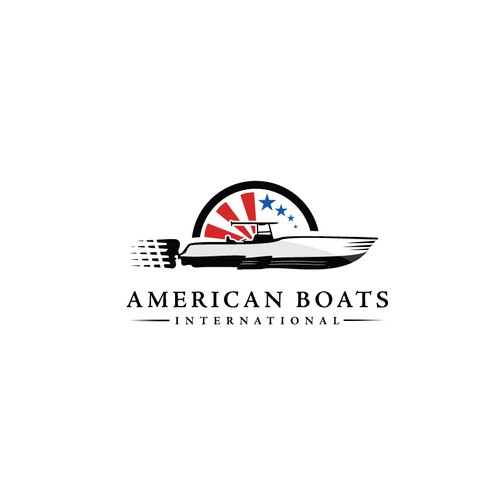 Boat brand with the title 'A bold solution for American Boats seller in Dubai'