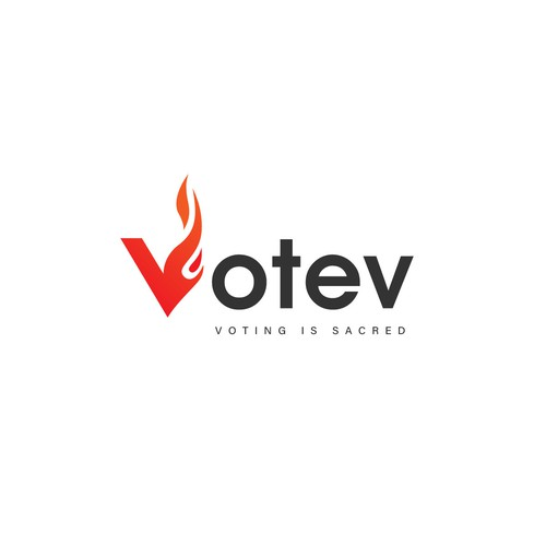 Vote logo with the title 'Votev'