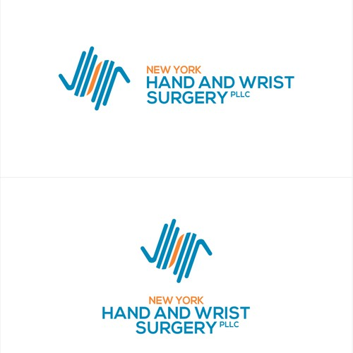 High five logo with the title 'Hand Surgeons need a Logo!'