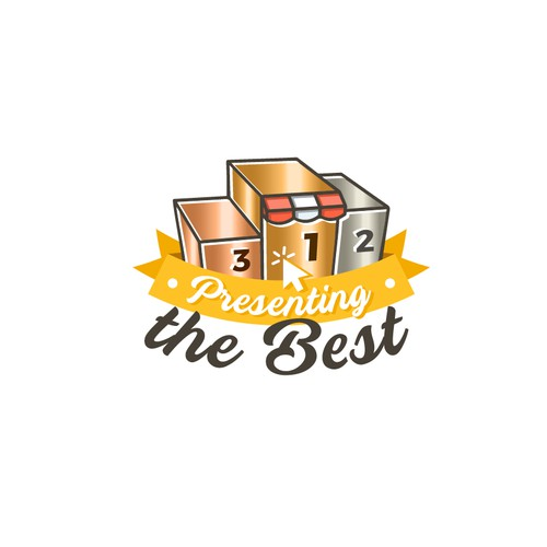 Present logo with the title 'Presenting The Best'