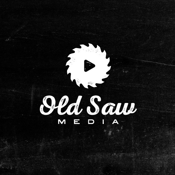 Rough logo with the title 'Old Saw Media'