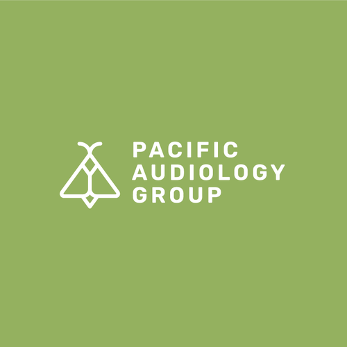 Modern design with the title 'Pacific Audiology Group Logo'