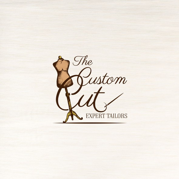 Tailor logo with the title 'Logo for the Tailor.'