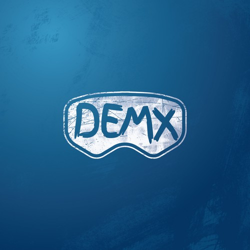 Motocross design with the title 'DEMX Motocross'