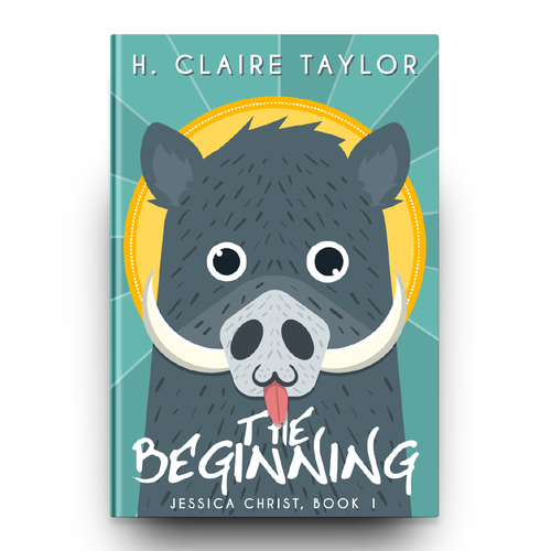 Clean book cover with the title 'The Beginning Book Cover'