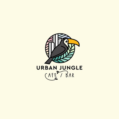 Toucan logo with the title 'URBAN JUNGLE'