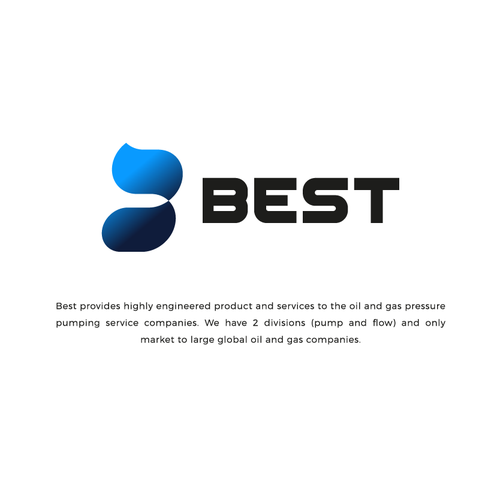 Refined design with the title 'Logo concept for BEST'