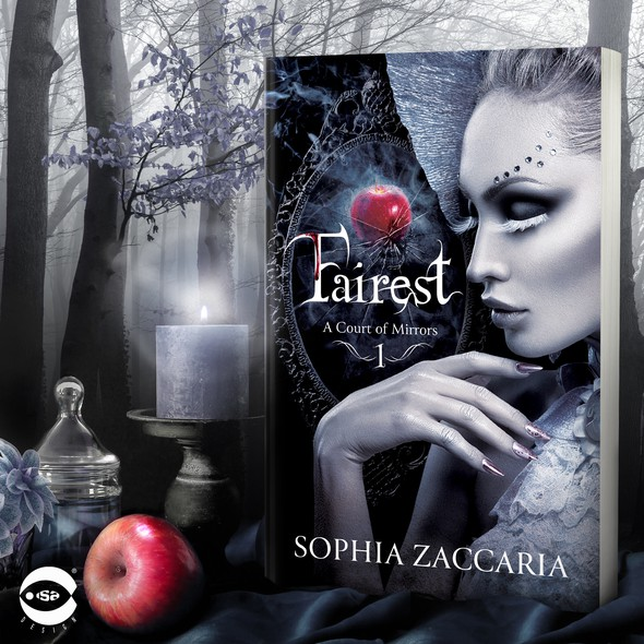 """Gothic design with the title 'Book Cover for """"Fairest"""" by Sophia Zaccaria'"""
