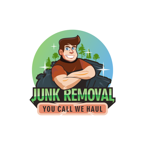 Bin logo with the title 'JUNK'