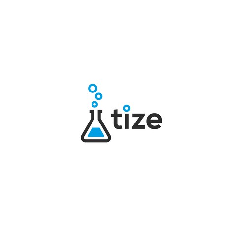 Chemical logo with the title 'Tize Logo'