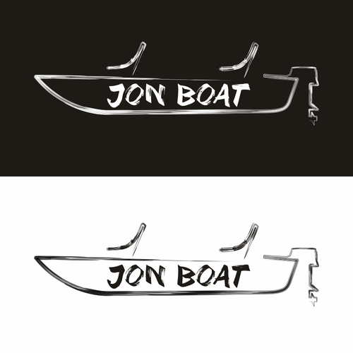 Album logo with the title 'Jon Boat'