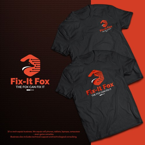 Repair logo with the title 'Logo for Fit-It-Fox'