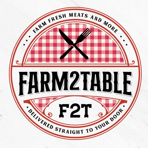 Classic logo with the title 'FARM 2 TABLE'