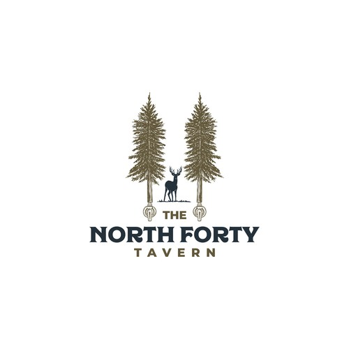 North design with the title 'Classic logo for Northwood tavern '