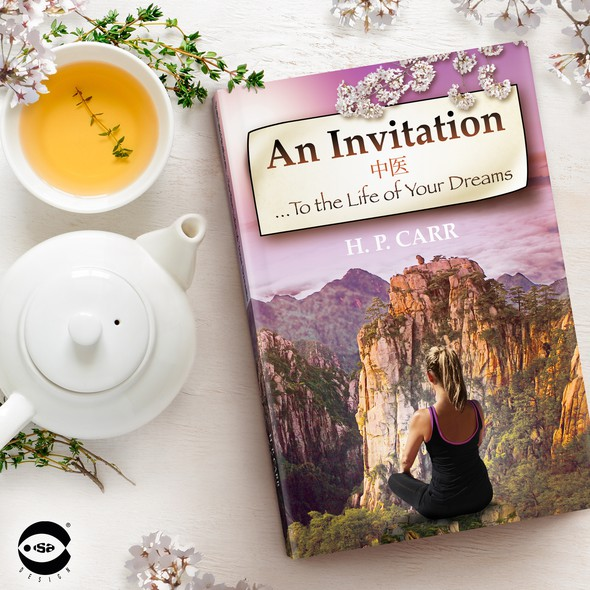 """Travel book cover with the title 'Book cover for """"An Invitation...To the Life of Your Dreams"""" by H. P. Carr'"""