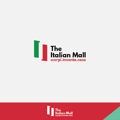 "Italian brand with the title 'Our company needs a new logo! If you love ""Italian Style"", show us!'"