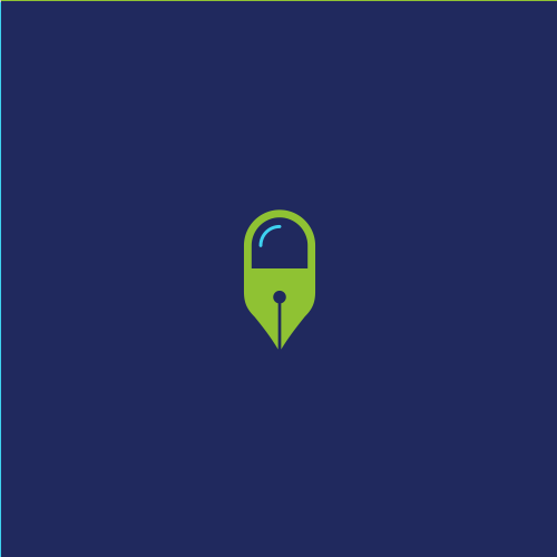 Hemp oil logo with the title 'pen + pill'