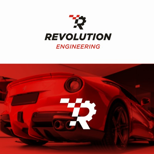 Tuning design with the title 'Revolution Engineering'