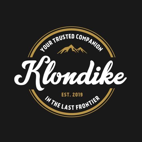 Alaska logo with the title 'Klondike Logo'