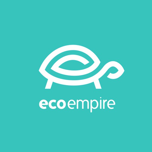 Eco design with the title 'Eco Empire logo'