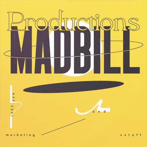Stroke design with the title 'MADBILL Productions'