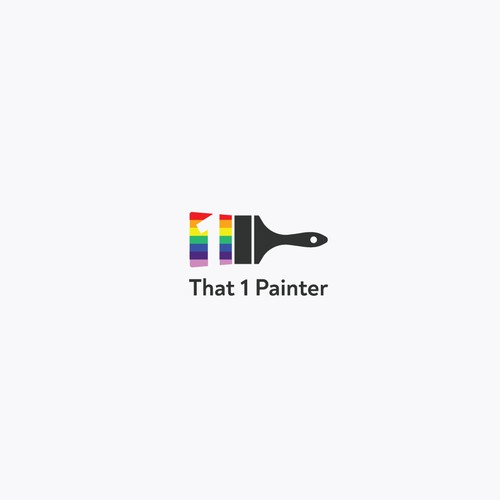 Rainbow brand with the title 'That 1 Painter'