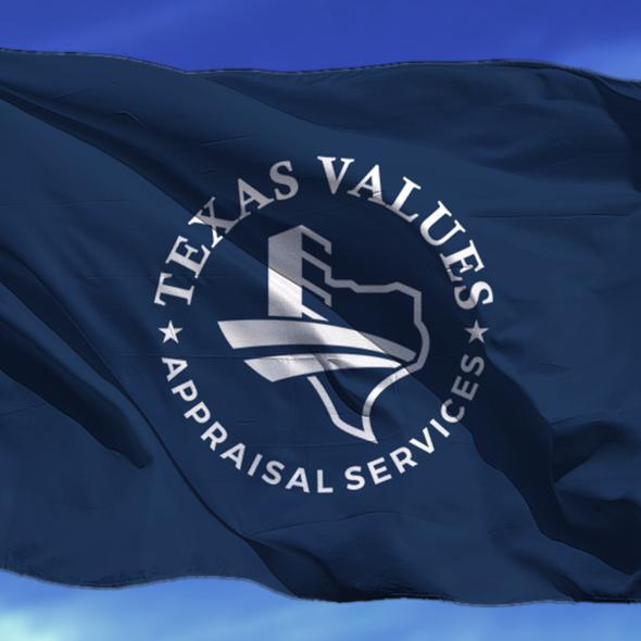 Building design logo with the title 'Texas Value Logo Design'