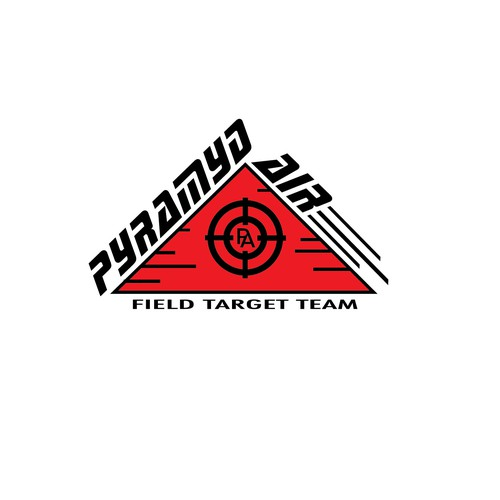 Pyramid logo with the title 'Bold Concept for Shooting Range'