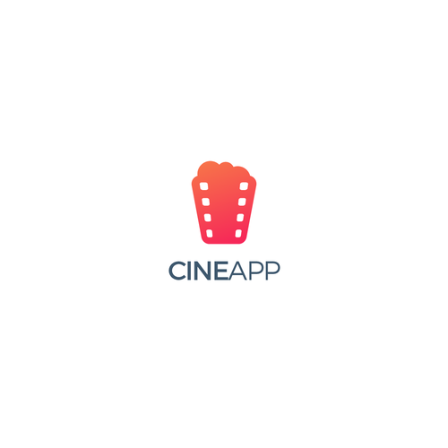 Cinematographer and cinematography logo with the title 'Cine App'