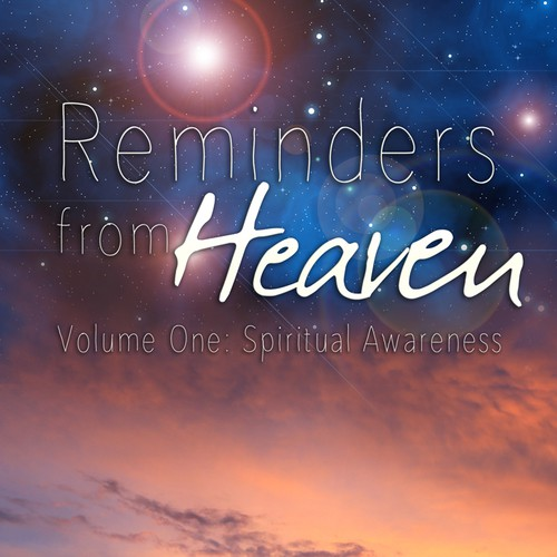 """Philosophy book cover with the title '""""Reminders From Heaven""""  Book Cover'"""