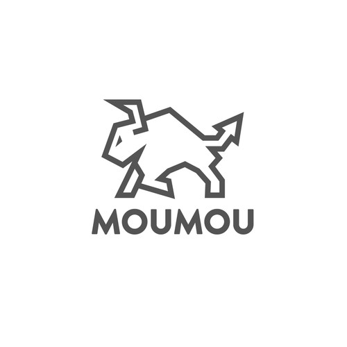 Taurus logo with the title 'Logo Design for Moumou'