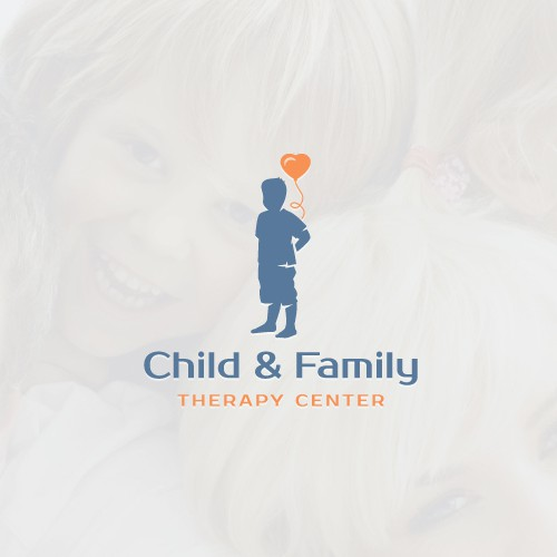 Speech therapy logo with the title 'Intriguing logo for therapy center'