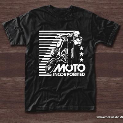 Vintage Style Moto Inc. T-Shirt Design