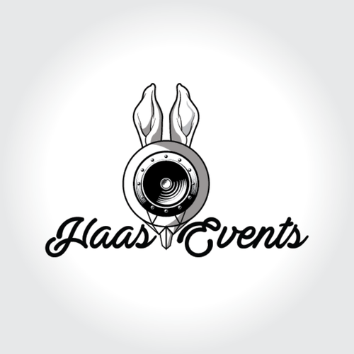 Bass logo with the title 'Logo design contest entry'